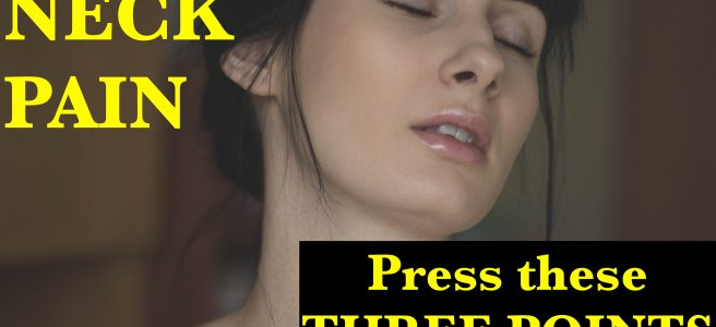acupressure for neck pain 2