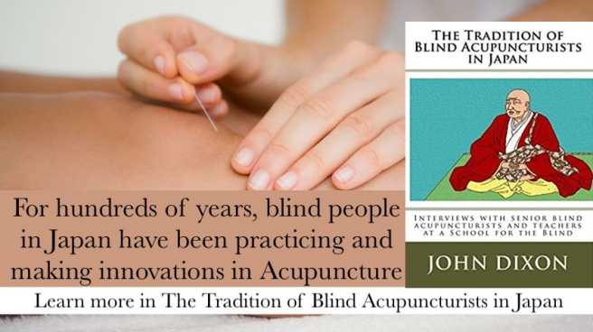 Blind Acupuncture in Japan