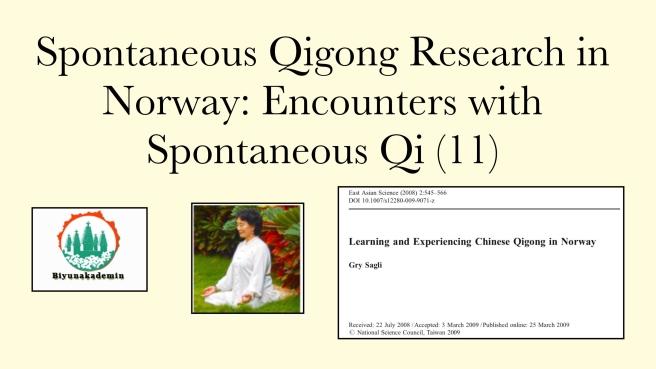 Biyun qigong Fan Xiulan Norway