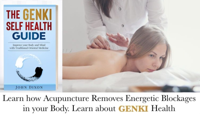 Genki Health Japanese Woman receiving Acupuncture