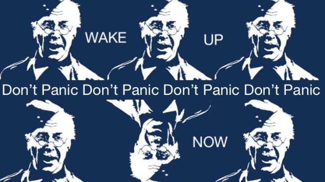 Don't panic Corporal Jones