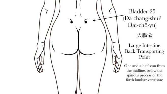 Bladder 25 Acupuncture Point