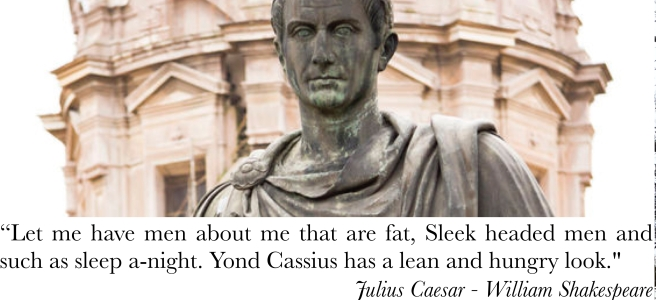 Cassius a lean and hungry look shakespeare