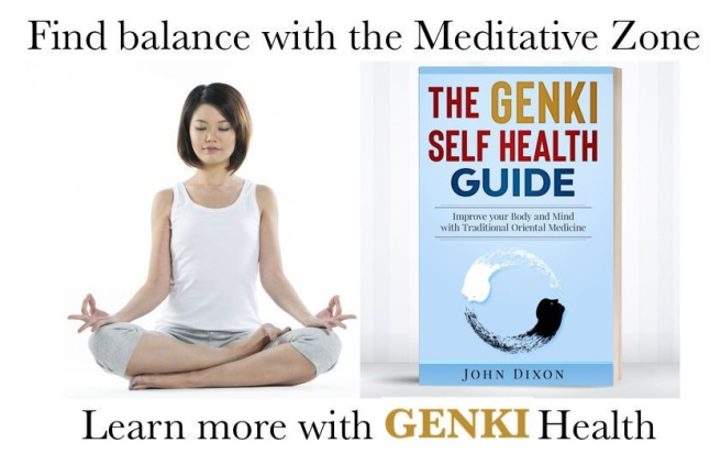 Genki Health Japanese Asian Woman Meditating