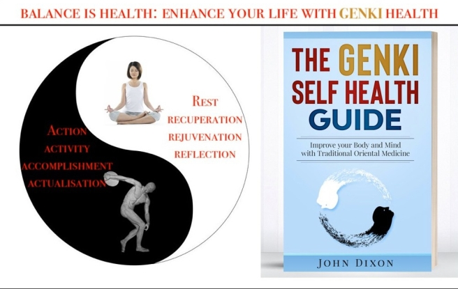 ying yang genki health book japanese 9