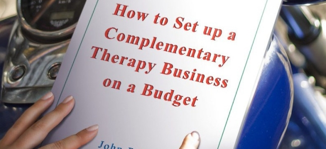 how to set up a complementary therapy business on a budget