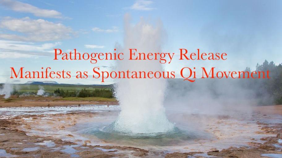 pathogenic qi spontaneous qigong zifagong geyser