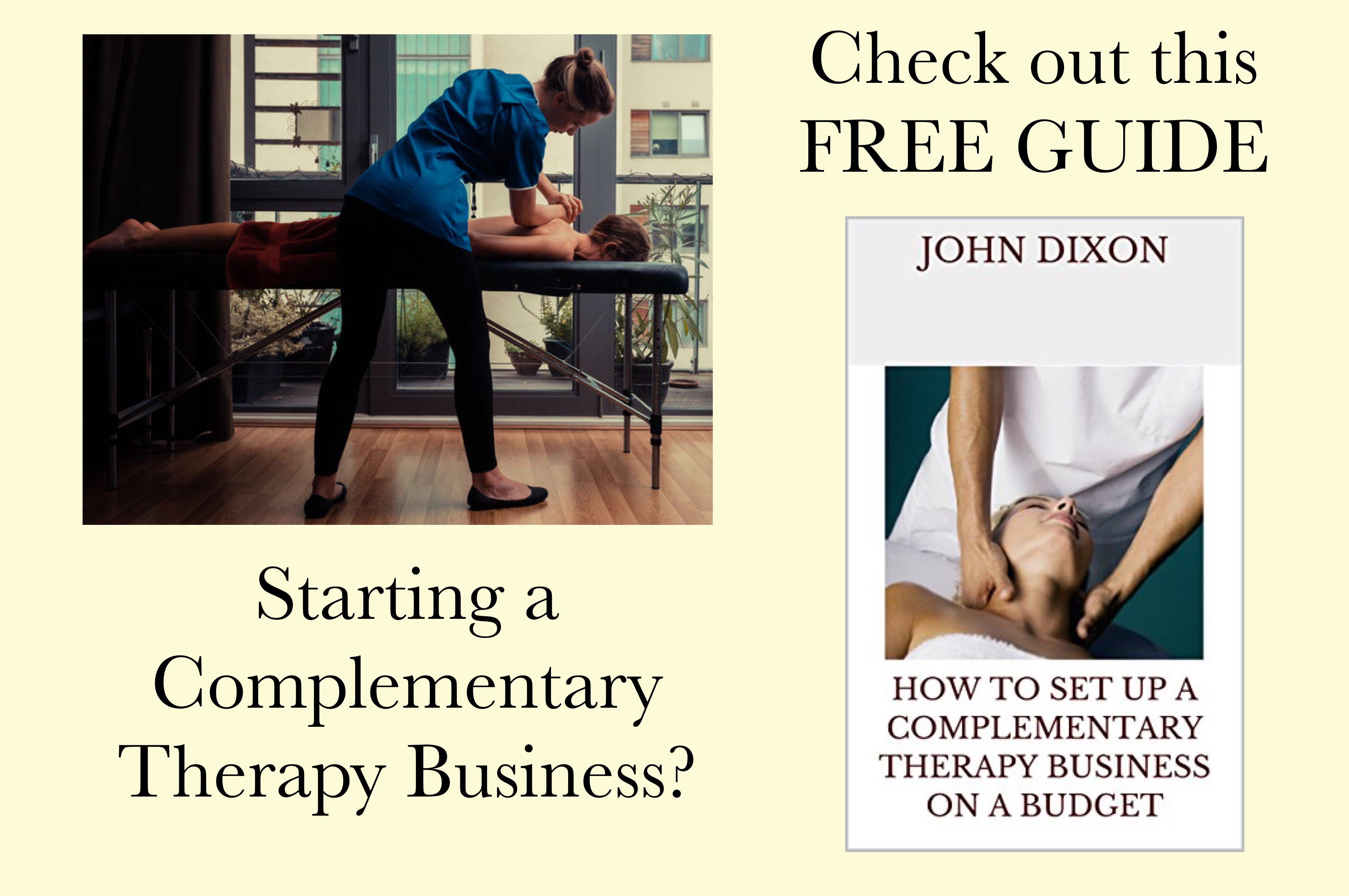 complementary therapy business